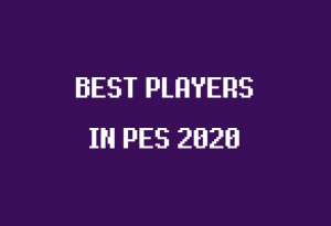 konami pes 2020 best players
