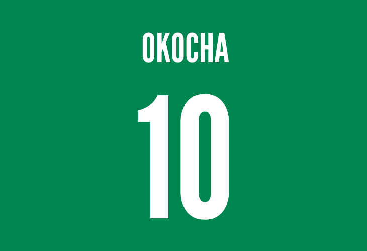 nigerian midfielder jay-jay okocha
