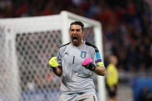 italy keeper gianluigi buffon