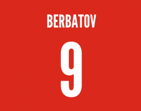 man utd striker berbatov