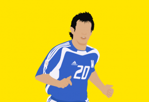 greek midfielder giorgos karagounis