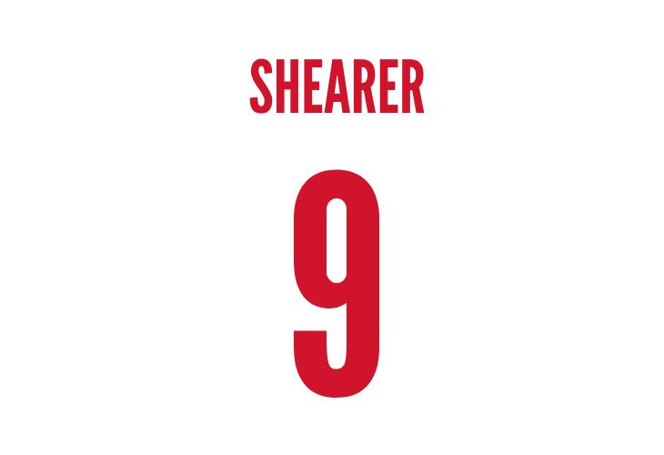 england striker alan shearer