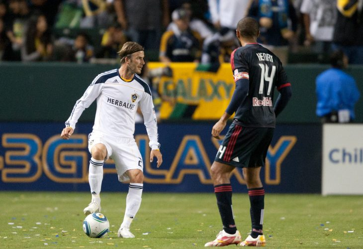 david beckham and thierry henry in mls