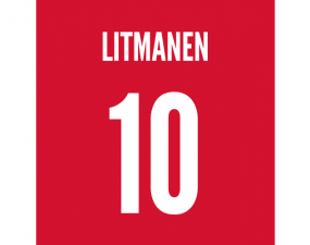 ajax finnish midfielder jari litmanen