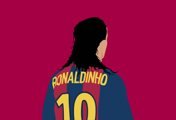 barcelona and brazil legend ronaldinho