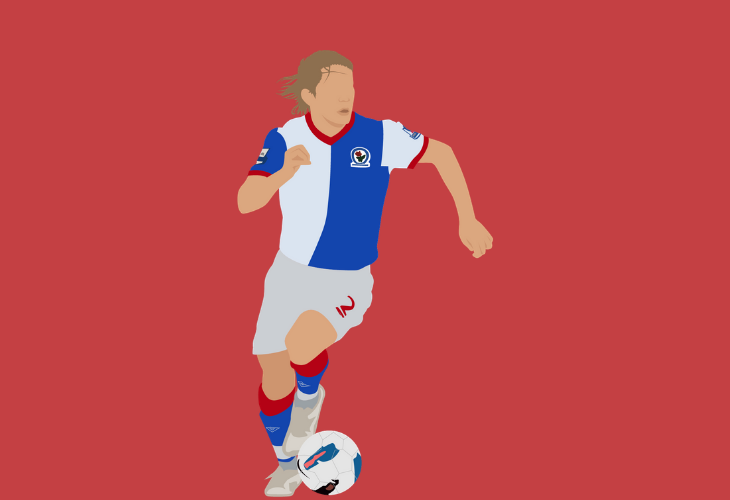 midfielder tugay kerimoglu at blackburn rovers