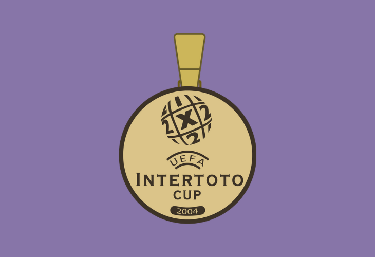 intertoto cup winners medal