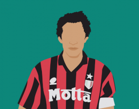 milan captain franco baresi