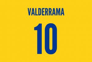 colombia midfielder carlos valderrama