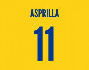 colombian striker asprilla