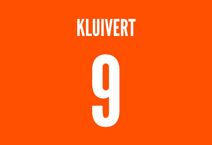 dutch striker patrick kluivert