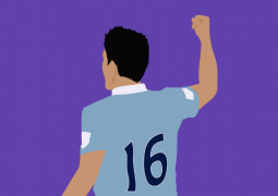 sergio aguero celebrates premier league goal