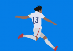jermaine jones shoots for usa at world cup 2014
