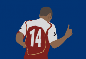 henry scores for arsenal