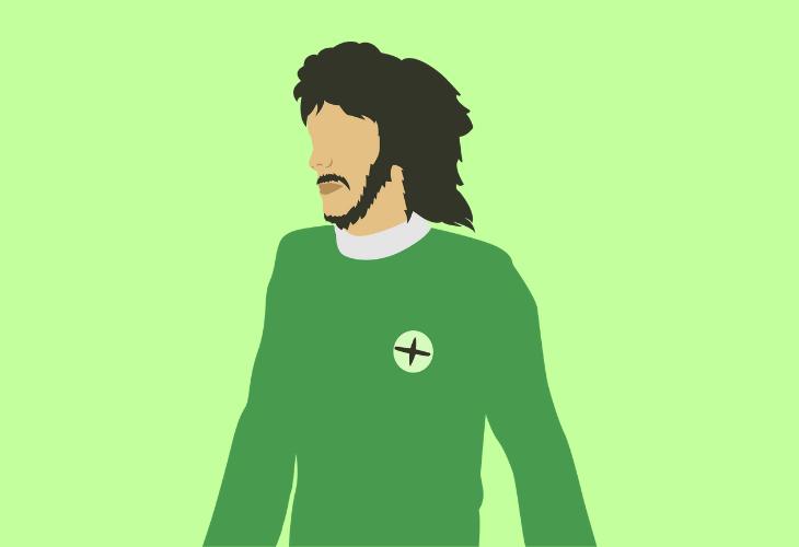 Northern Irish footballer George Best